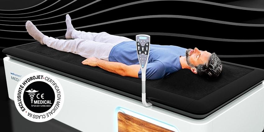 Nouvelles table de massages HYDROJET MEDICAL WAVE