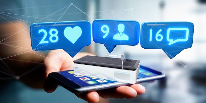 Communiquer sur les réseaux sociaux avec hydrojet