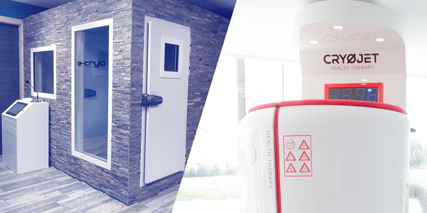 chambre de cryothérapie vs cryo sauna