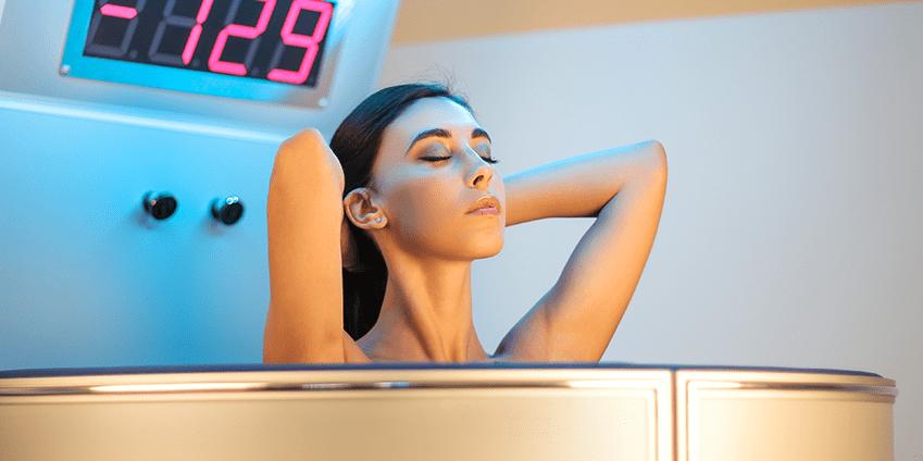 Cryothérapie soin détox