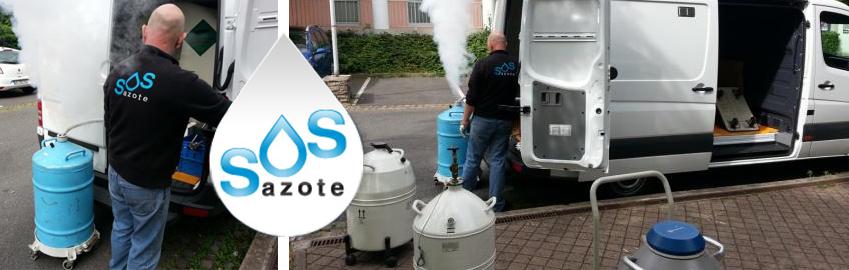 SOS Azote azote liquide