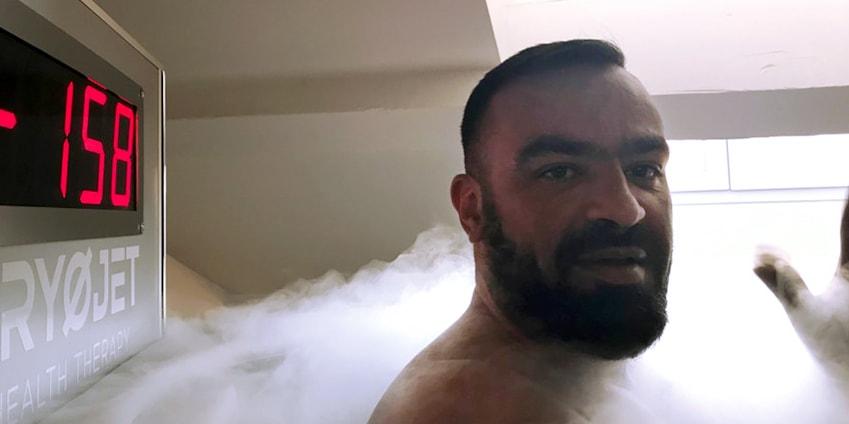 Cryothérapie corps entier Cannes chez Claude Marenghi