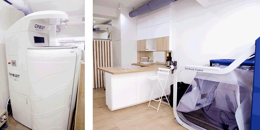 La cryothérapie centre l'Ekipe Paris 5
