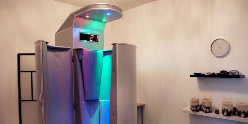 Cabine de cryothérapie chez Cry07 Ardèche Boulieu-lès-Annonay