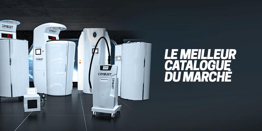 Catalogue d'appareils de cryothérapie CRYOJET