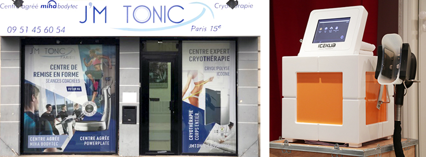 Thermo cryolipolyse chez JM Tonic paris 15