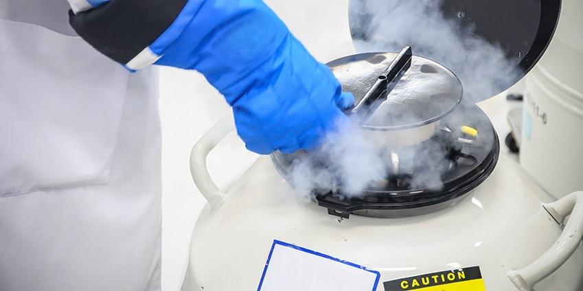 Cryothérapie et brûlure
