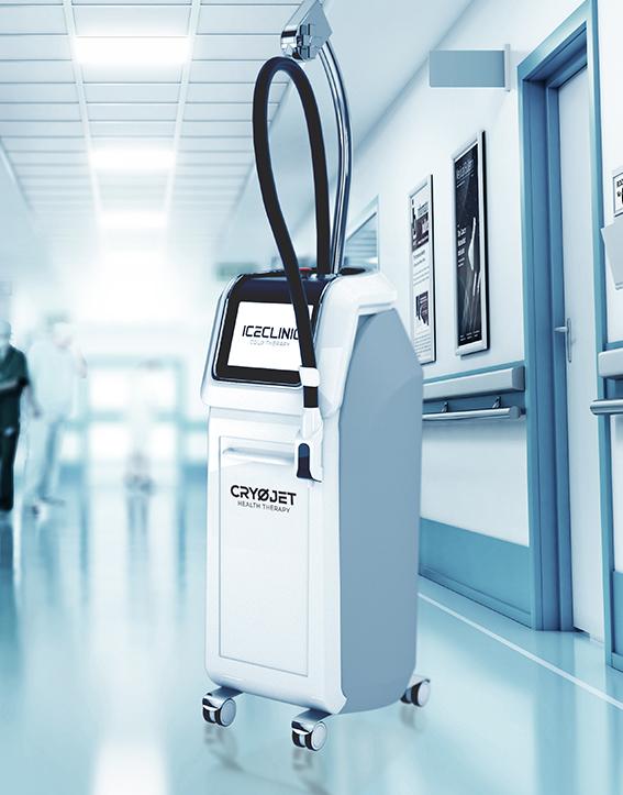 ICECLINIC cryothérapie localisée traitement des sportifs