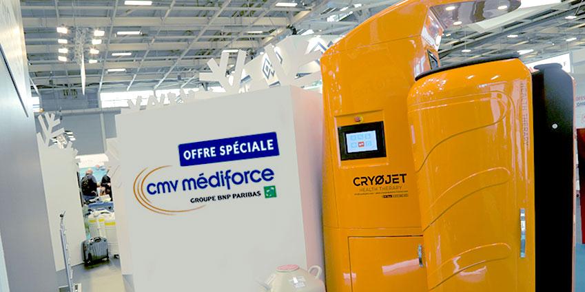 Achetez une cabine de cryothérapie en crédit-bail chez CMV Médiforce