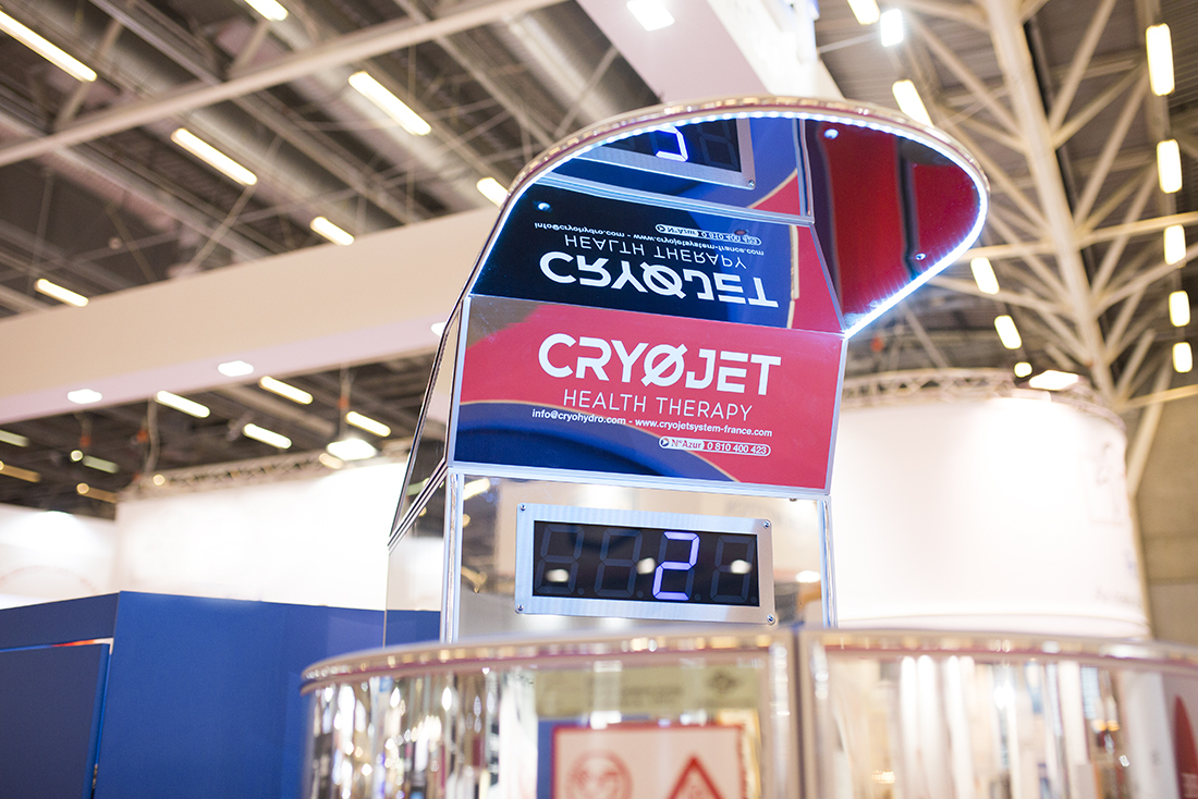 Séance de cryothérapie corps entier sécurisée avec IceX