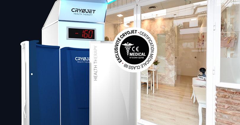 Centres de cryothérapie : licence de marque CRYOJET