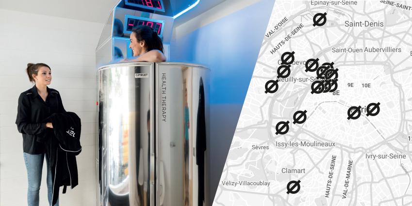 Où faire une séance de cryothérapie Paris ?