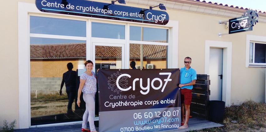 Cryothérapie dans l'Ardèche, rendez-vous chez Cry07