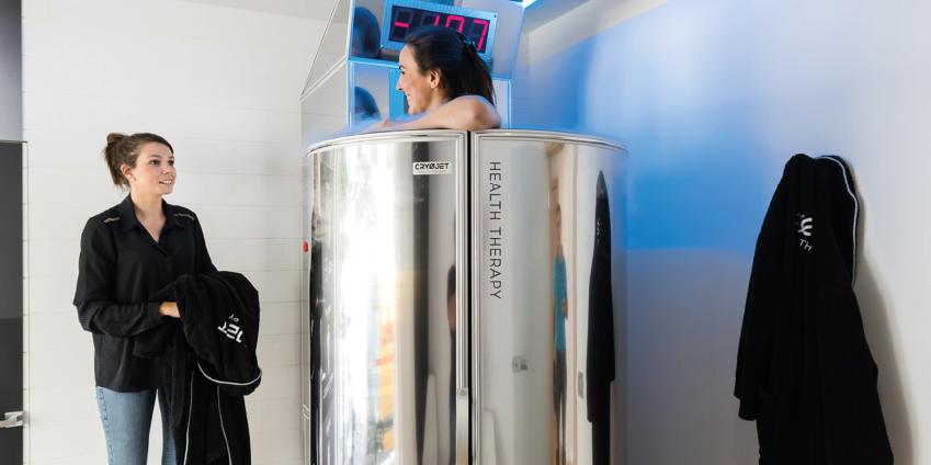 Comment se déroule une séance de cryothérapie corps entier ?