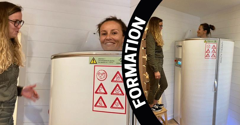 Formation cryothérapeute avec CRYOJET