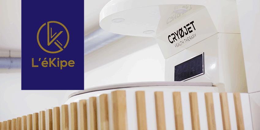 Cryothérapie Paris 5 au centre l'Ekipe: récupération sportive