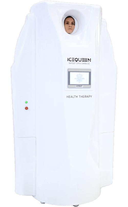 IceQueen, la première véritable cryocapsule corps entier du marché