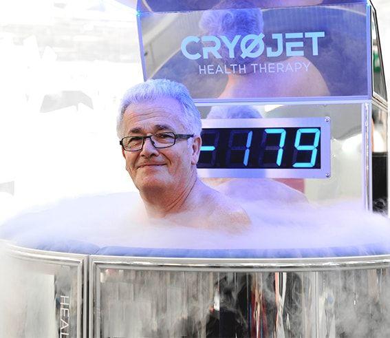Cryothérapie corps entier traitement thérapeutique