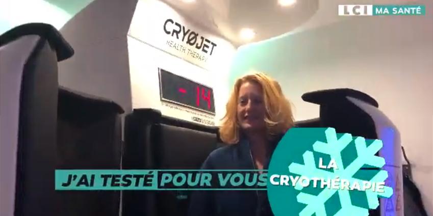 LCI a testé la cryothérapie