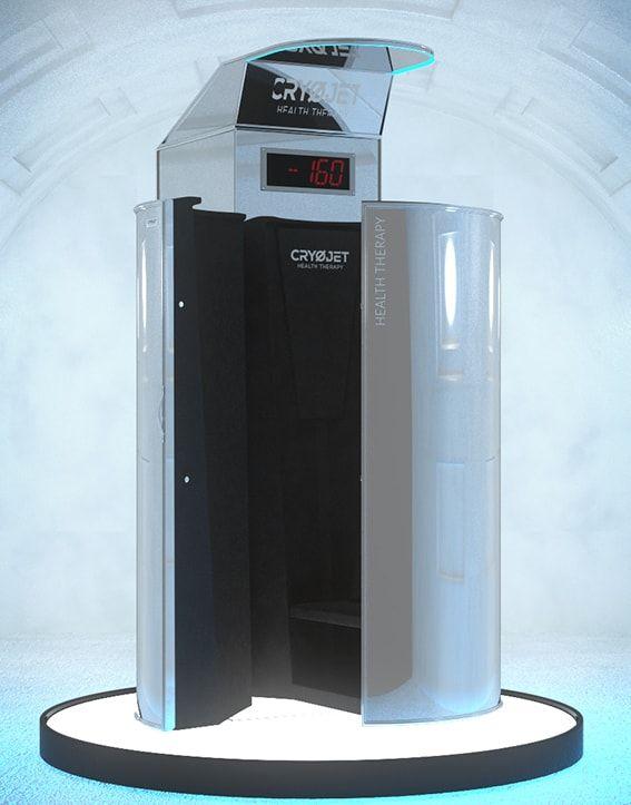 Cabine de cryothérapie Ice X design supérieur
