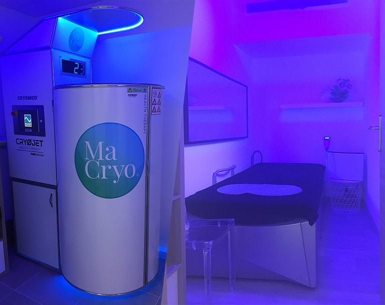 Cryothérapie corps entier à Toulon chez Ma Cryo