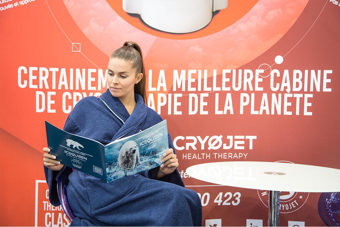 Information sur Cryojet au salon rééduca 2017