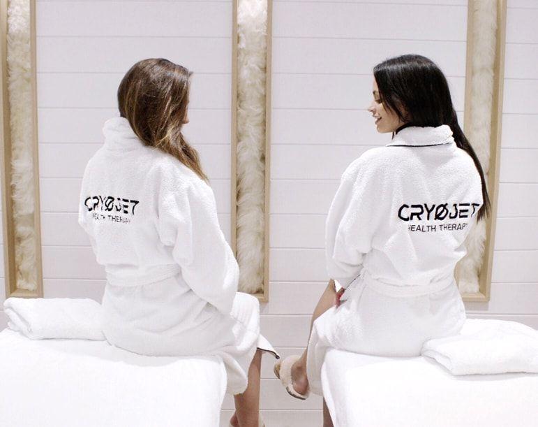 Les appareils de cryothérapie Cryojet exposées au showroom