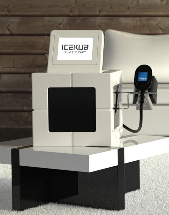 IceKub la cryolipolyse format compact