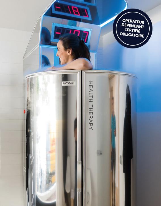 Cabine de cryothérapie Ice X