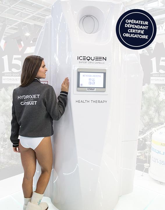 IceQueen cabine de cryothérapie pour professionnels de santé