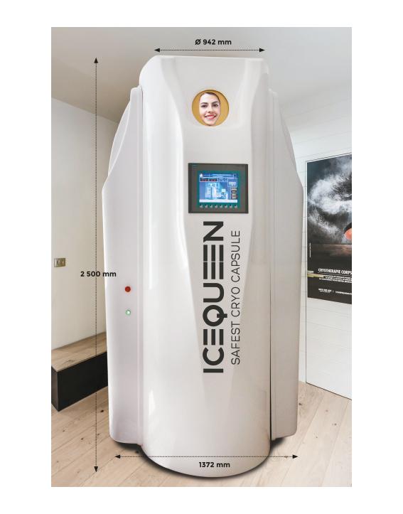 IceQueen cabine de cryothérapie la plus efficace du marché