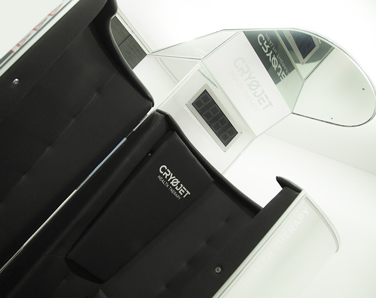 Cabine de cryothérapie Ice X chez Crossfit 92