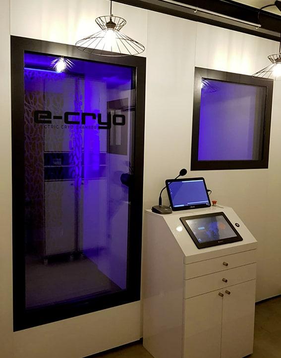 Chambre de cryothérapie électrique