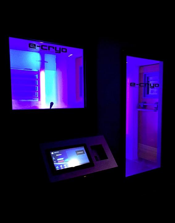 Chambre de cryothérapie corps entier 100% électrique