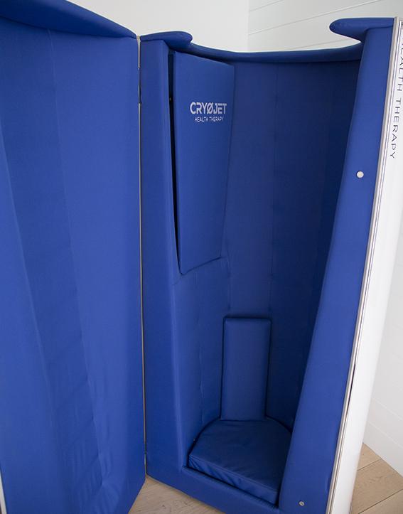 Cabine de cryothérapie petite et performante Ice Mini