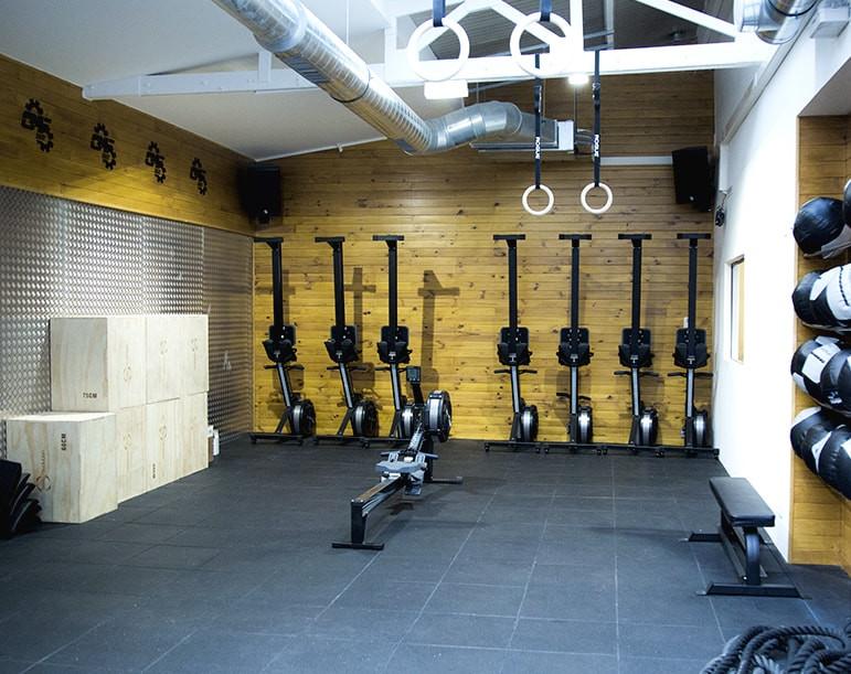 Crossfit 92 salle d'entrainement