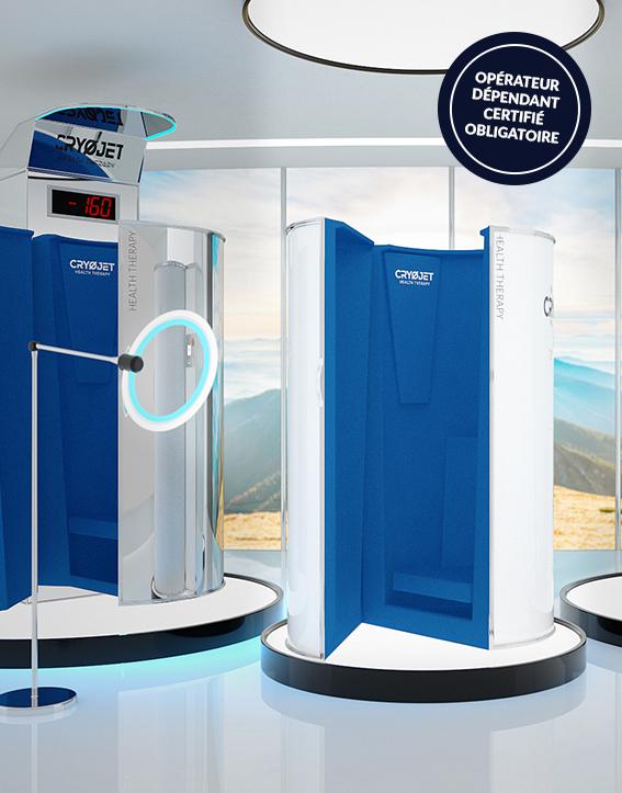 Ice Mini, cabine de cryothérapie petite taille