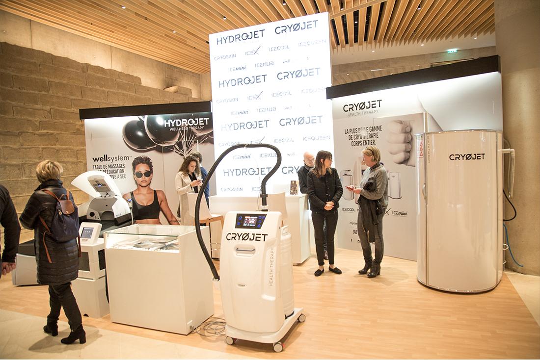 Présentation des appareils Cryojet au salon Rééduca 2018