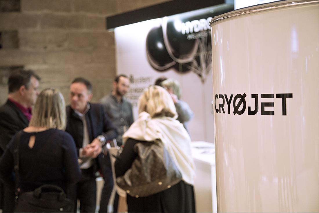 Exposition appareils de cryothérapie salon Thermalies 2018
