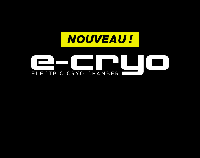 Nouveau : chambre de cryothérapie sur-mesure E-CRYO