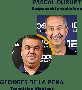 Techniciens Secteur Sud - Pascal Durupt & Georges de la Pena